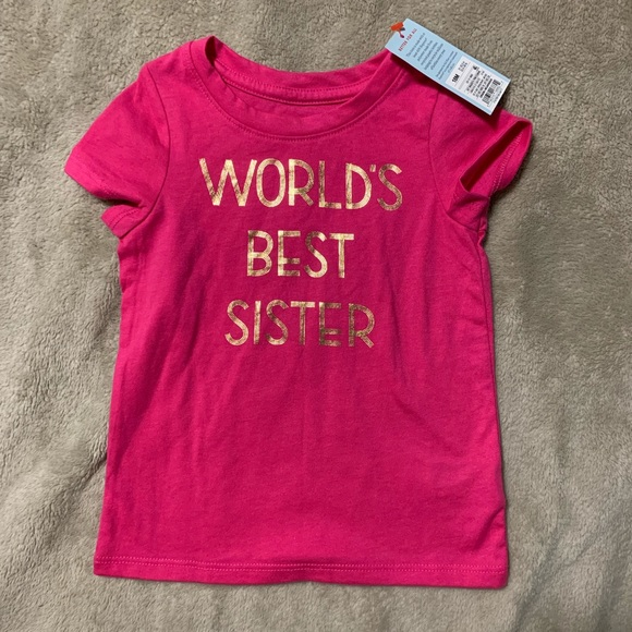 Cat & Jack Other - 18 month pink tee shirt